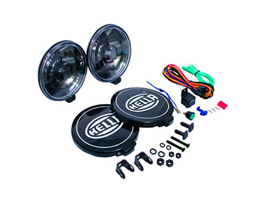 Допоптика Hella 500 Series Black Magic Halogen Driving Lamp Kit