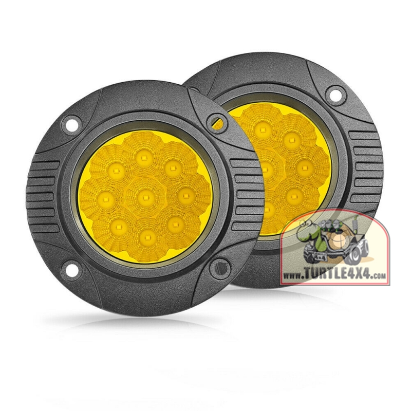 LED фонари встраиваемые противотуманные