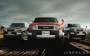 Toyota слегка обновила FJ Cruiser для Японии