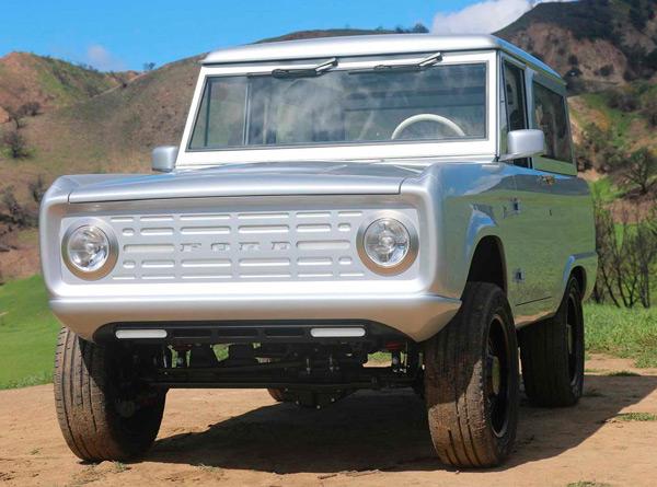 Представлен полностью электрический Ford Bronco