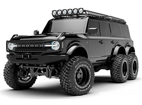 Ford Bronco превратят в шестиколесного монстра за 400 тысяч долларов
