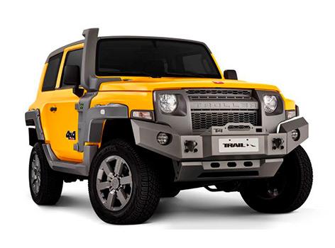 Новый Ford Bronco, который все ждут, давно есть в Бразилии...