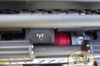 Установлена лебедка T-Max 11500. Дублирование управления лебедкой выведено в салон.