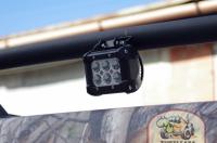 Установлены LED фонари укороченные бокового света