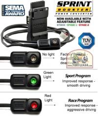 Установлен SprintBooster на педаль газа