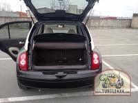 Полезное пространство багажника при установке ГБО не пострадало. Все находится под полом багажника