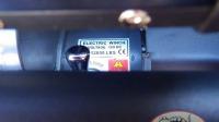 Лебедка переднего бампера Electric Winch 12000