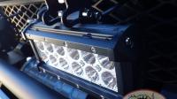 LED допсвет переднего бампера на регулируемых салазках