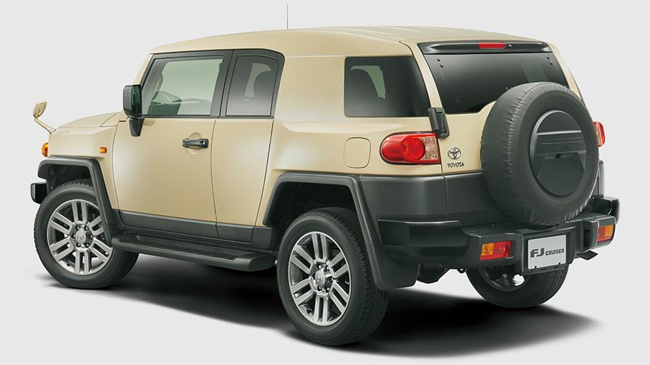 Toyota FJ Cruiser в версии Final Edition