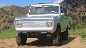 Обнаружили самый первый выпущенный предпродажный экземпляр внедорожника Land Rover