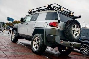 Внедорожный тюнинг. Toyota FJ Cruiser