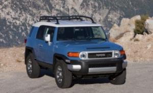 2014 модельный год станет последним для Toyota FJ Cruiser
