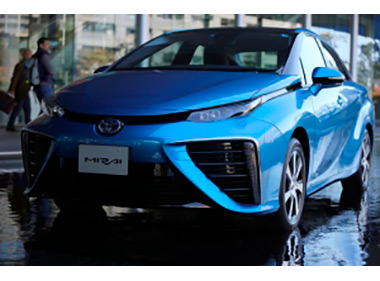 Toyota начала продажи первого в мире водородомобиля