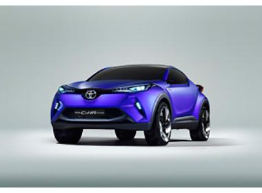 Toyota показала в Париже новый кроссовер