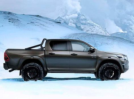 Самый внедорожный вариант Hilux АТ35 от Toyota