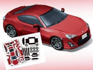 Toyota выпустила бумажную модель GT 86