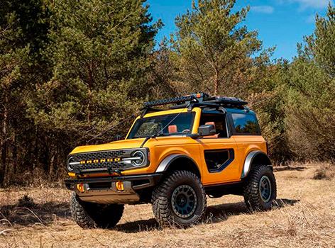 Возвращение легендарного Ford Bronco